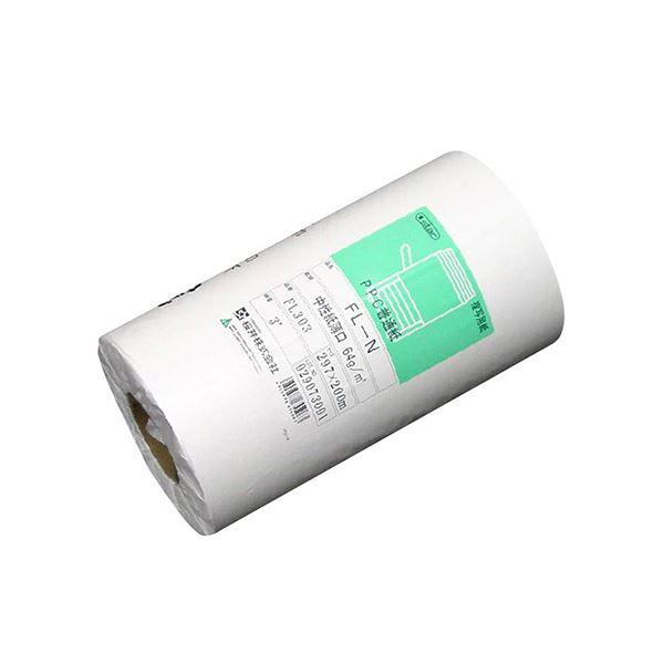 PPC普通紙ロール FL-N 薄口594mm×60m 2インチ素巻 FL239 1箱(2本)
