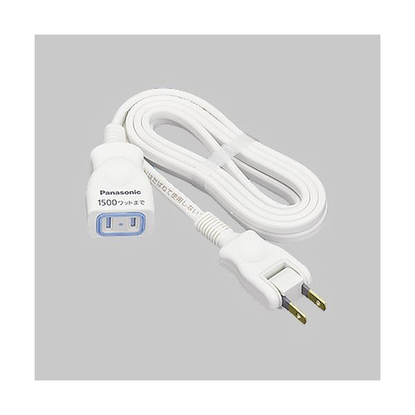 パソコン・周辺機器 PCアクセサリー 電源タップ 関連 (まとめ買い)延長コードX 2Pホワイト 3m WHA4913WP 1本【×5セット】