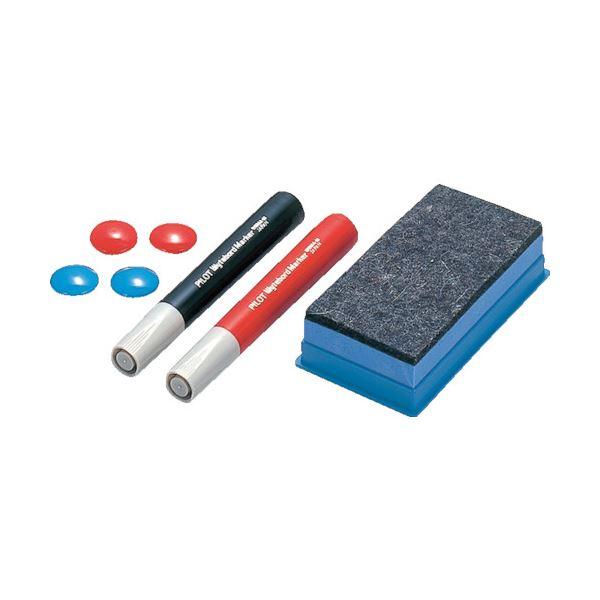 文具・オフィス用品関連 (まとめ) ホワイトボード用付属品セット WB-ASET 1組 【×5セット】
