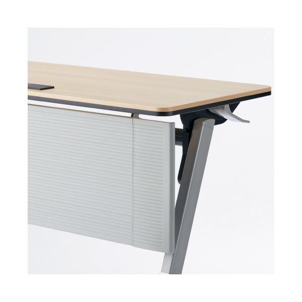 オフィス家具関連 【幕板のみ】幕板 グレー YU-P18G W1800用
