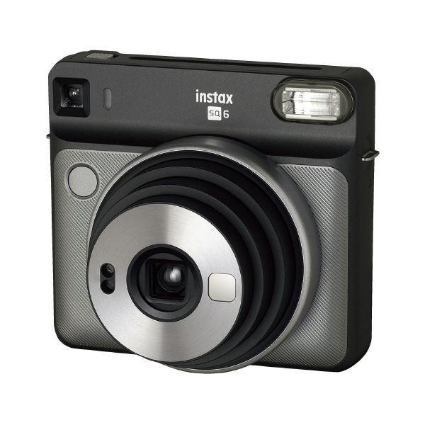 TV・オーディオ・カメラ 関連 富士フイルム チェキ instax SQUARE SQ6 グレー