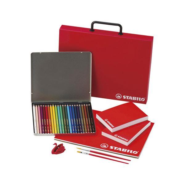 生活 雑貨 通販 スタビロ 水性色鉛筆セット M80710514 K90707117