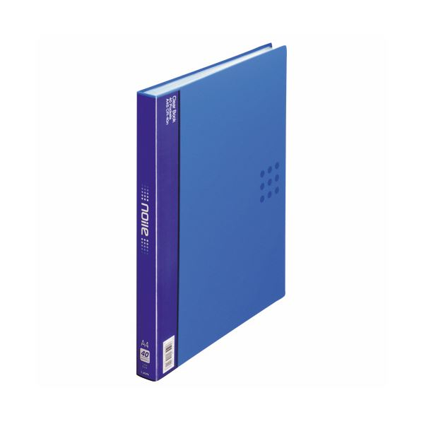 ファイル・バインダー クリアケース・クリアファイル 関連 (まとめ)クリアーブック(ノイル)A4タテ 背幅26mm 40ポケット 1冊 背幅26mm ブルー 関連 CR-40n 1冊【×5セット】, プロフーズ:b126a0e0 --- sunward.msk.ru