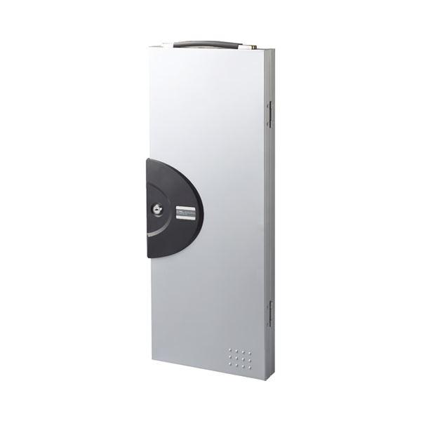 インテリア・家具 キーステーション・キーボックス 関連 (まとめ)キーボックス 64個吊 CKB-64-S【×5セット】