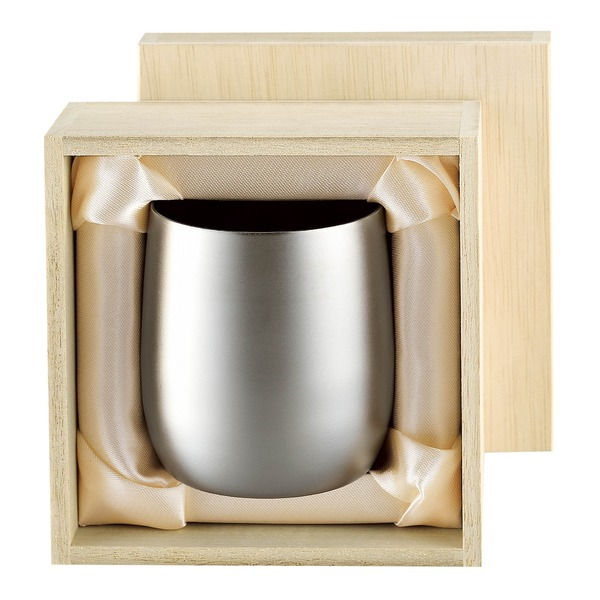 コーヒー・お茶用品 マグカップ・ティーカップ コーヒーカップ 関連 チタン製 タンブラー/ビアカップ 日本製 2重カップ 『アサヒ』 〔カフェ バー〕