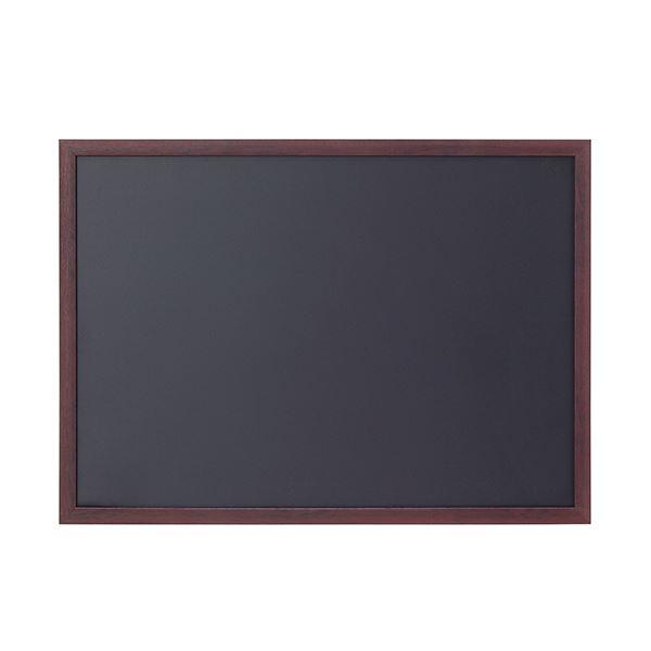 湿気や日差しに強い、木目調樹脂製フレーム。 (まとめ) アスト ブラックボード A2745925 1枚 【×5セット】