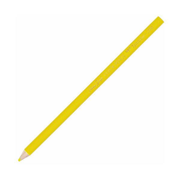 文房具・事務用品 筆記具 関連 (まとめ買い) 色鉛筆 1500単色 きいろ1500-03 1箱(12本) 【×10セット】