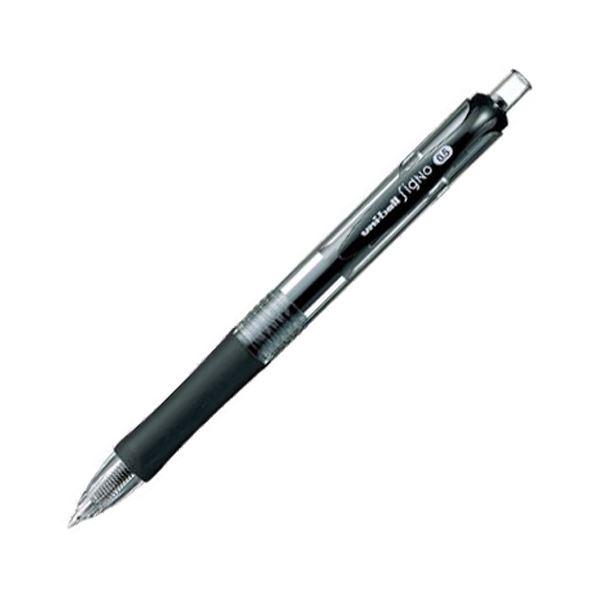 文房具・事務用品 筆記具 関連 (まとめ買い) ゲルインクボールペンユニボール シグノ ノック式 0.5mm 黒 UMN152.24 1本 【×50セット】