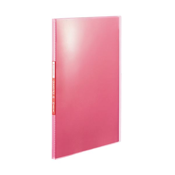 生活 雑貨 通販 (まとめ) キングジム シンプリーズクリアーファイル(透明) A4タテ 20ポケット 背幅12mm ピンク TH184TSPP 1冊 【×50セット】
