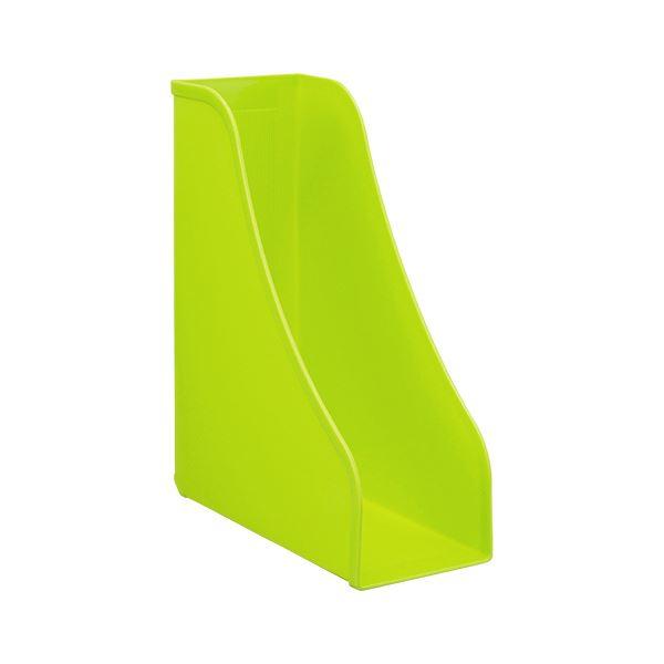 収納用品 マガジンボックス・ファイルボックス 関連 (まとめ)スタンド A4グリーン PD-FS-GR 1個 【×20セット】