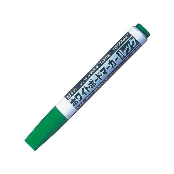 文房具・事務用品 筆記具 関連 (まとめ買い) ホワイトボードマーカールック エコフィール 緑 WBKE-MM#29 1本 【×30セット】