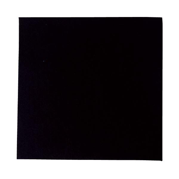 生活 雑貨 通販 (まとめ)工作フェルト 単色(5枚) 黒 300mm×300mm【×5セット】