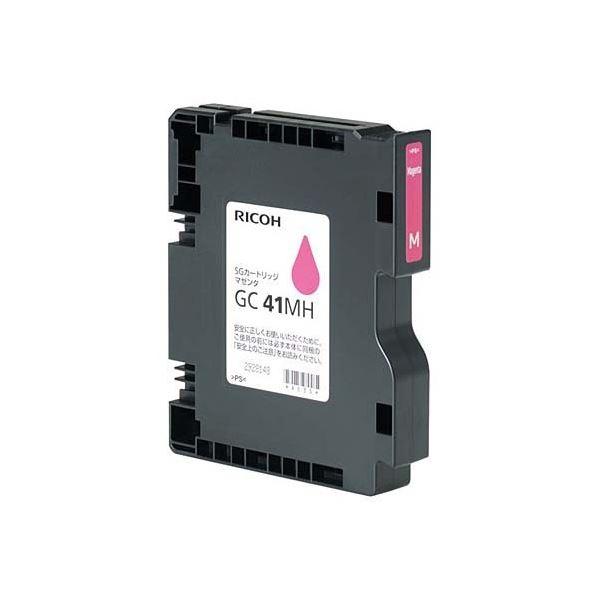 パソコン・周辺機器 PCサプライ・消耗品 インクカートリッジ 関連 SGカートリッジ GC41MHマゼンタ Lサイズ 515827 1個