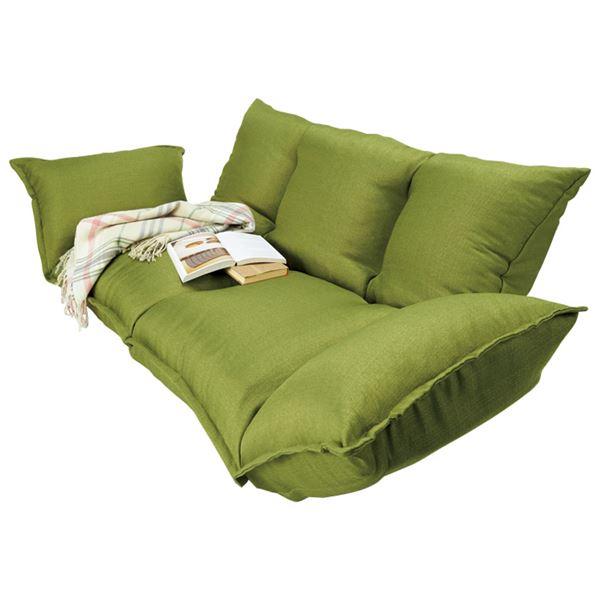 インテリア・寝具・収納 ソファ・ソファベッド ソファベッド 関連 カウチソファベッド グリーン