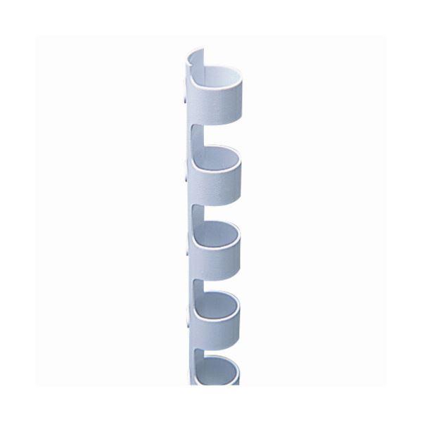 生活 雑貨 通販 (まとめ) カール事務器 コームリング 直径8mm ホワイト TC-8W 1パック(10本) 【×30セット】