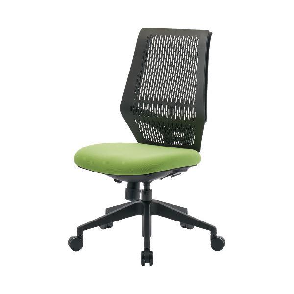 オフィス家具関連 CMC 事務イス YC-210B ライトグリーン
