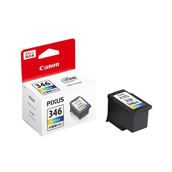 パソコン・周辺機器 PCサプライ・消耗品 インクカートリッジ 関連 (まとめ)FINEカートリッジBC-346XL 3色カラー(大容量) 2160C001 1個 【×2セット】