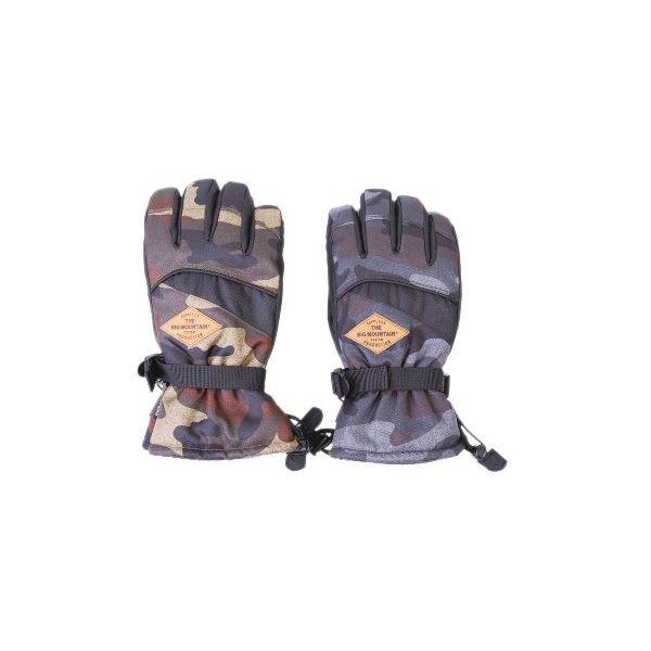 生活 雑貨 通販 スキーレジャーグローブ メンズ 迷彩アソート L 10双セット
