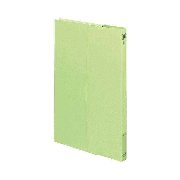 収納用品 マガジンボックス・ファイルボックス 関連 (まとめ)ケースファイル A4背幅17mm 緑 フ-950NG 1パック(3冊) 【×20セット】