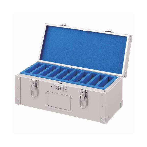 パソコン PC消耗品 記録用メディアケース CD・DVDケース 関連 カートリッジトランク3480カートリッジ 10巻収納 ダイヤル錠付 CT-10D 1個