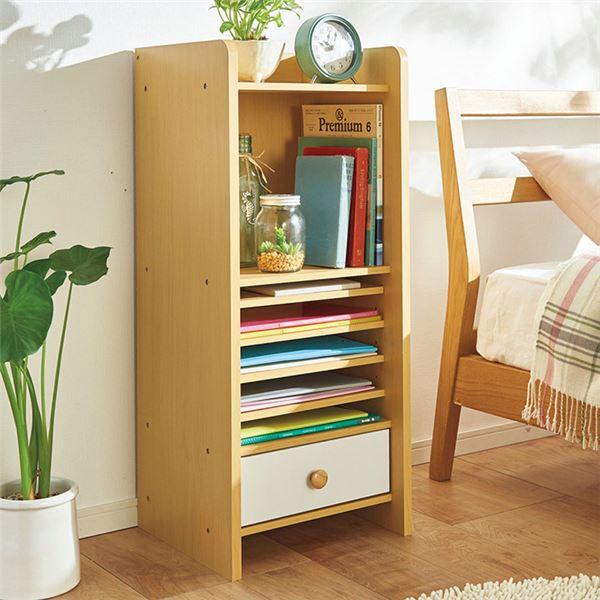 インテリア・寝具・収納 収納家具 関連 仕分けできる便利リビングラック 1個