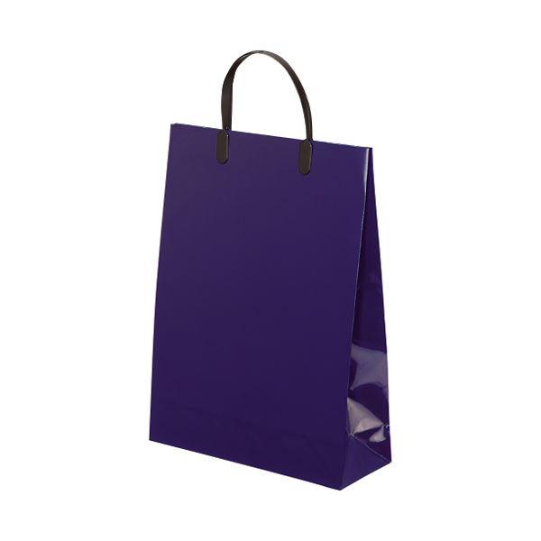 袋類 紙袋 関連 (まとめ)東京ユニオン ラミネートバッグ 165 中 紺 5枚【×5セット】