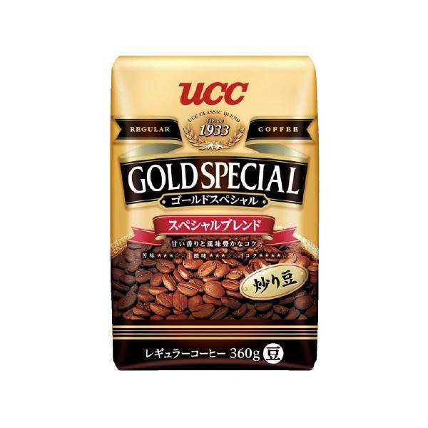 食品類 コーヒー 関連 (まとめ)UCC ゴールドSP スペシャルブレンド 豆 360g【×5セット】