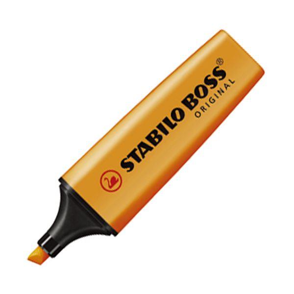 文房具・事務用品 筆記具 関連 (まとめ買い) スタビロ 蛍光マーカー BOSSオレンジ 70-54 1本 【×30セット】