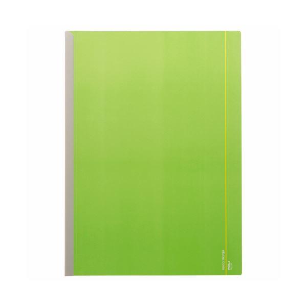 文房具・事務用品 ファイル・バインダー 関連 (まとめ)レポートカバー A4タテ20枚収容 グリーン RC-23P 1冊 【×100セット】