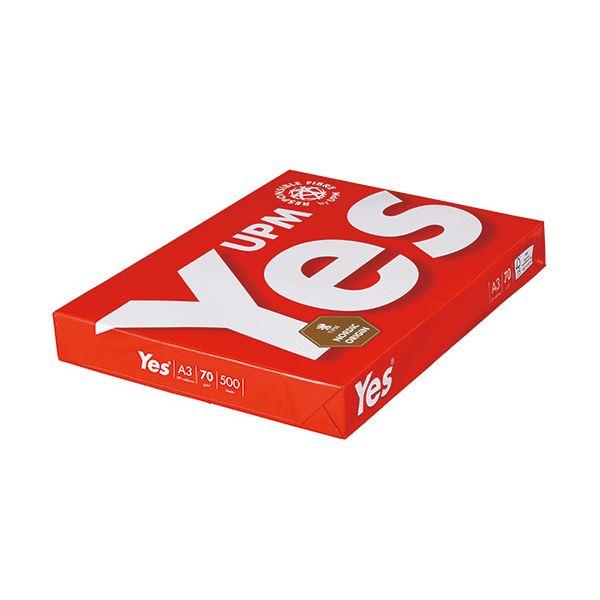 (まとめ買い)UPM Yes Red 70g A3YR70-A3 1冊(500枚) 【×5セット】