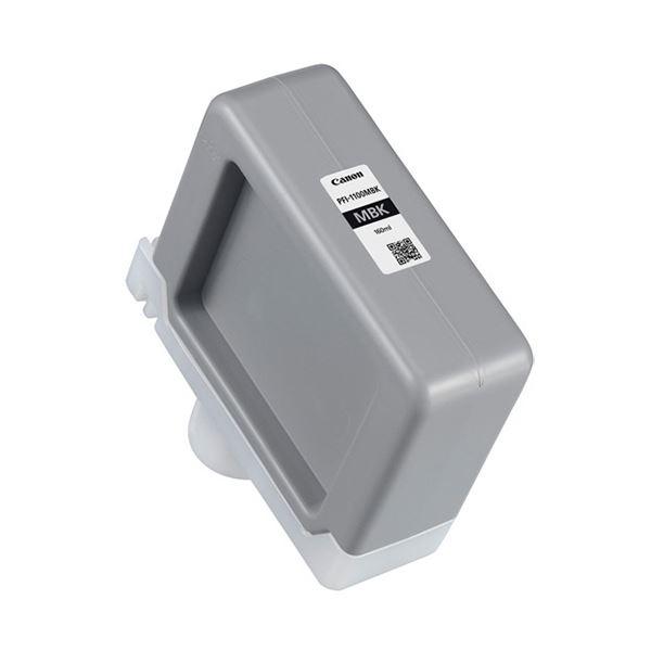 パソコン・周辺機器 PCサプライ・消耗品 インクカートリッジ 関連 インクタンクPFI-1100MBK マットブラック 160ml 0849C001 1個