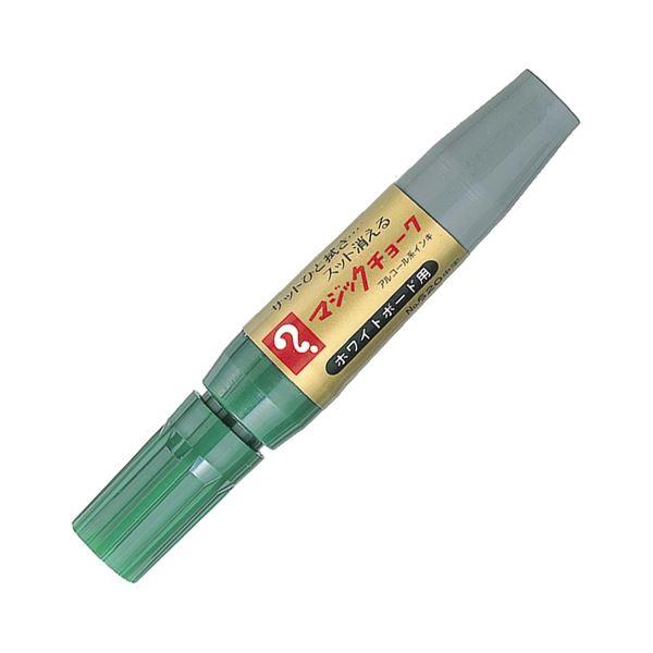文房具・事務用品 筆記具 関連 (まとめ買い) ホワイトボード用マーカーマジックチョークNo.620(中字) 緑 M620-T4 1本 【×50セット】