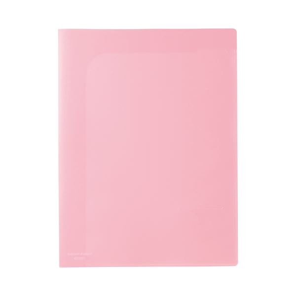 ファイル・バインダー クリアケース・クリアファイル 関連 (まとめ)ビュートン スマートホルダー NSH-A4-6CP ピンク【×100セット】