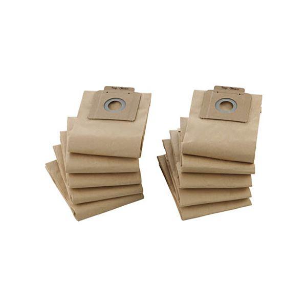 生活掃除機・クリーナー 関連 (まとめ買い)ペーパーフィルターバックTKC-1200FP 1パック(10枚)【×2セット】