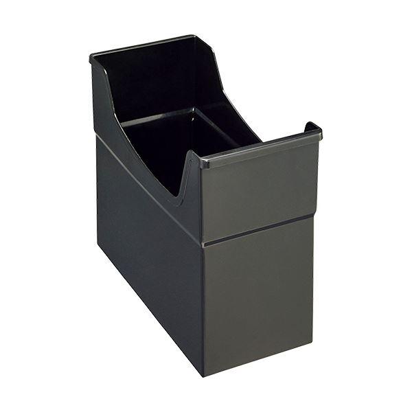 【洗顔用泡立てネット 付き】書類や小物の整理に便利なフリーボックス。 生活 雑貨 通販 (まとめ) ライオン事務器 フリーボックス PP製A4ヨコ 背幅155mm ブラック FB-135P 1個 【×30セット】