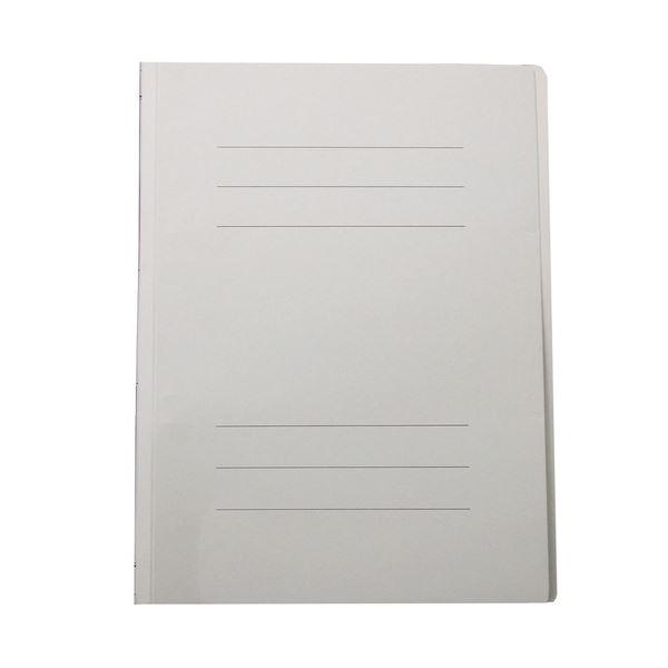 文房具・事務用品 ファイル・バインダー 関連 (まとめ)フラットファイルJ A4タテ150枚収容 背幅18mm グレー フF-J80N 1セット(10冊) 【×10セット】