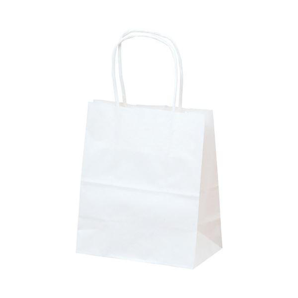 袋類 文具・オフィス用品 (まとめ)手提げバック 関連 白無地 50-5913 25枚入【×30セット】 特小