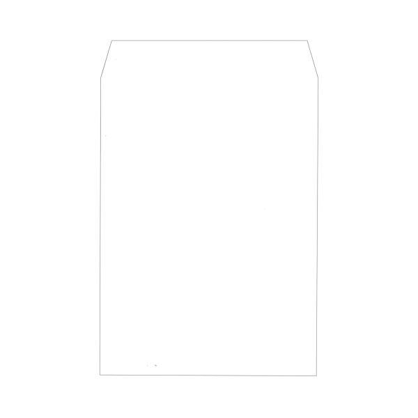 文具・オフィス用品関連 ソフトカラー封筒角2 100g/m2 ホワイト 業務用パック 160207 1箱(500枚)