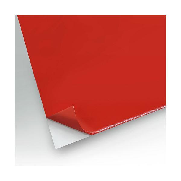 文房具・事務用品 はさみ・裁断用品 カッティングマット 関連 カッティングシート10m巻 赤 DC8-380L アカ 1巻