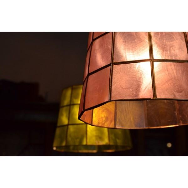 アンティーク シーリングライト おしゃれ デザイン照明 ROXAS mini 1灯タイプ ペンダントライト ピンク コード色 黒:創造生活館