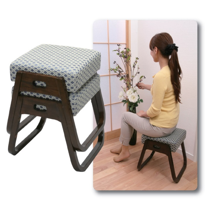アイディア商品 補助椅子 スタッキング 法事 和室 補助 椅子 イス
