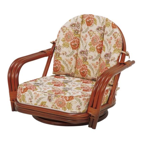 アジアン家具 アジア風 アジアン リゾート を 感じさせる 素材 心安らぐ 本物 の 居心地 を 体感 RATTAN CHAIR 回転座椅子 高さ51cm