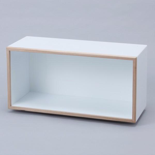 収納ボックス インテリア カラフルな 収納家具 お洒落 最高級ディスプレイボックス 奥行き30cm 3L 標準タイプ グリーン
