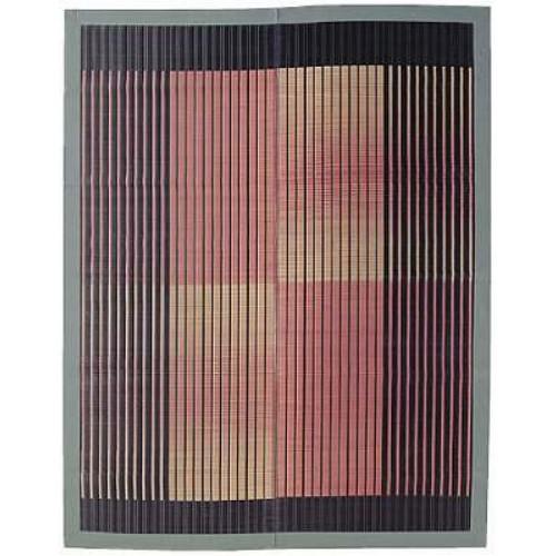 い草ラグ 『剣ヶ峰(けんがみね)』 ブラック 200×250cm