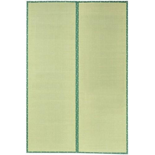 い草 カーペット ござ 表面に虫が付きにくいヒバ加工 和風 オシャレ い草上敷 『F竹(たけ)』 裏ウレタン付き 286×286cm