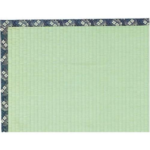 い草ラグ お部屋をナチュラルに演出 便利な い草上敷『梅花(ばいか)』 286×286cm