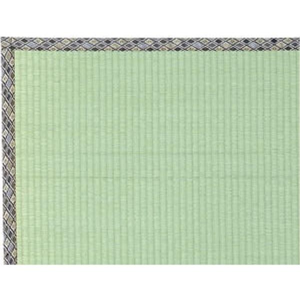 い草ラグ 表面に虫が付きにくいヒバ加工 和風 オシャレ い草上敷『柿田川(かきたがわ)』 176×261cm