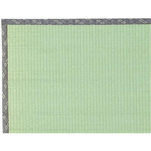 い草 敷物 気軽にリフレッシュ 人気商品 い草上敷『湯沢(ゆざわ)』 261×261cm