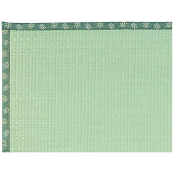 い草ラグ 敷くだけ、畳替えをしたような 素敵な 暮らし い草上敷『松(まつ)』261×261cm