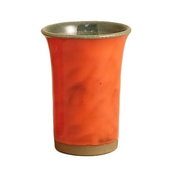 ビアカップ フリーカップ 絢爛な赤い器 話題の 有田焼 陽炎 ビールカップ